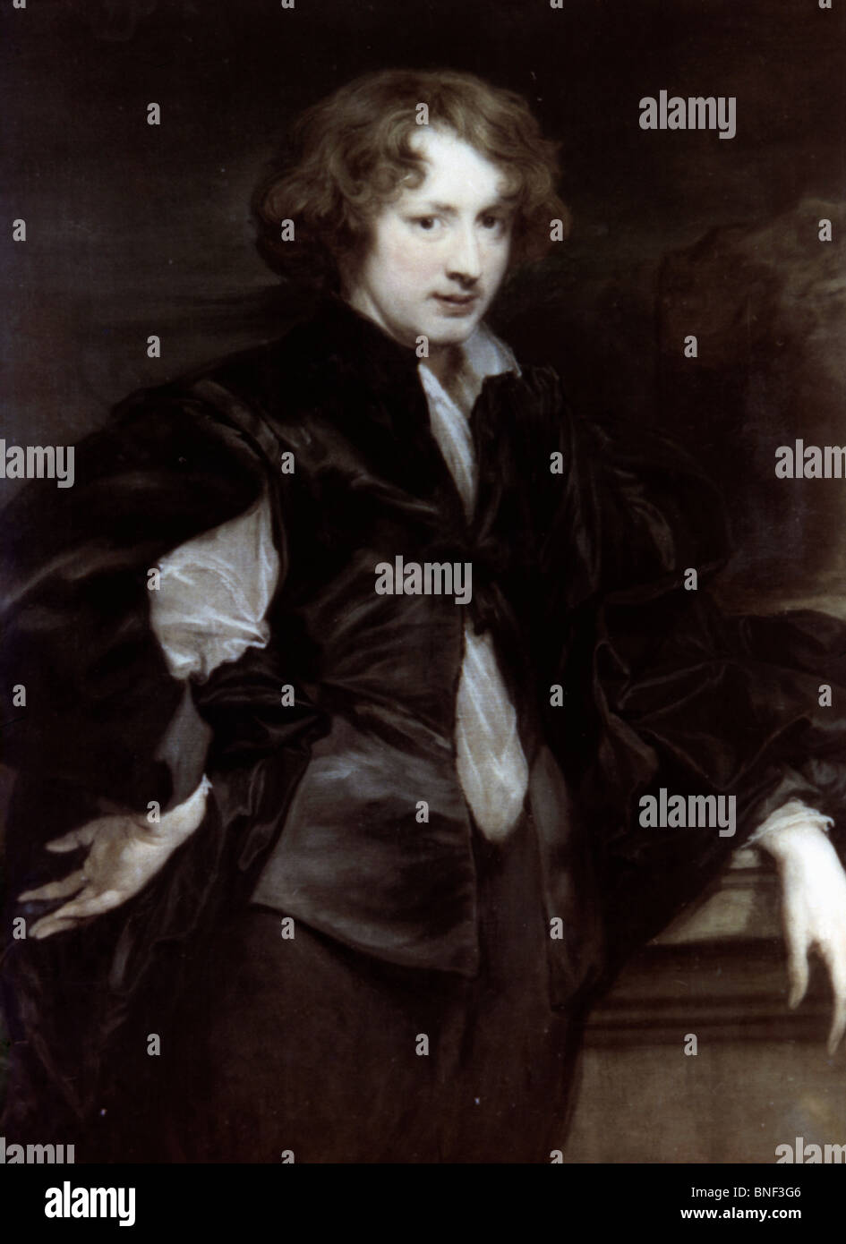 Self Portrait by Anthon van Dyck, 1620s, 1599-1641 - Stock Image