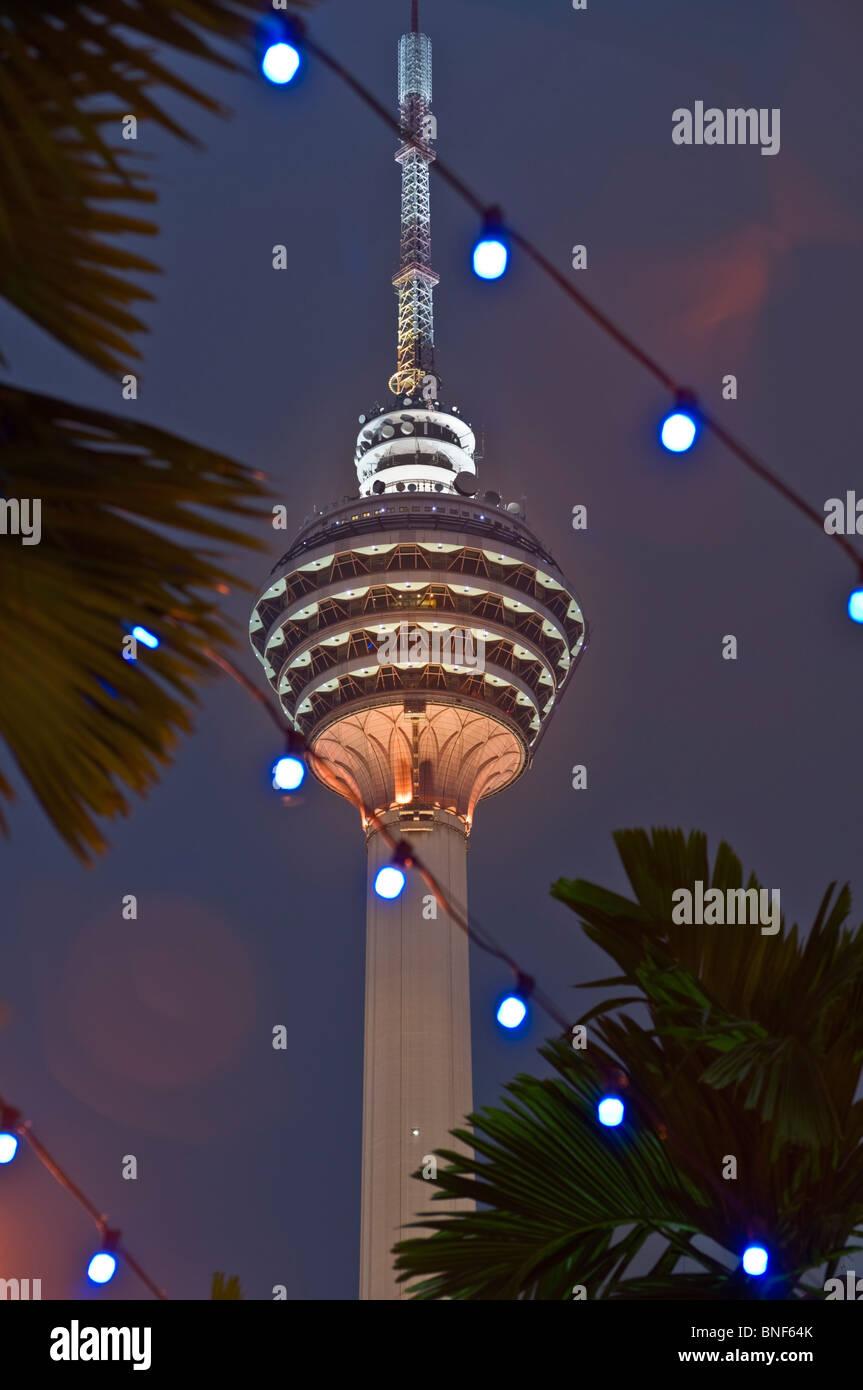 Menara KL Tower Kuala Lumpur Malaysia - Stock Image