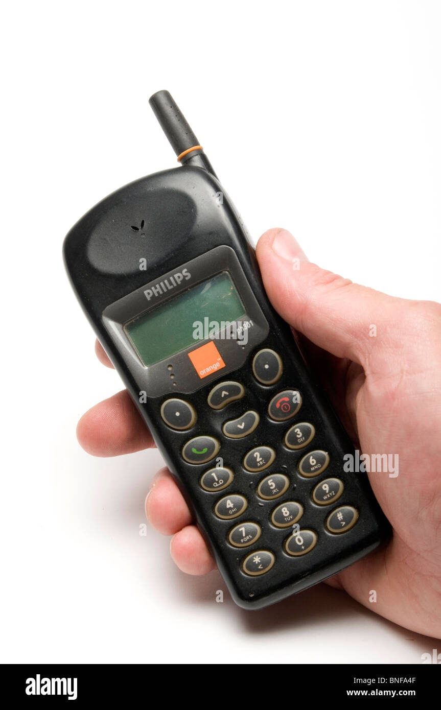 Old Style Mobile Phones Stock Photos & Old Style Mobile ...