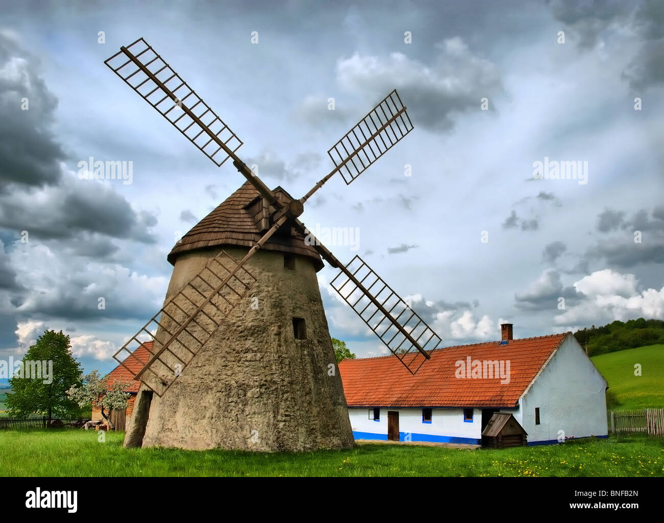 Traditional windmill - Stock Image