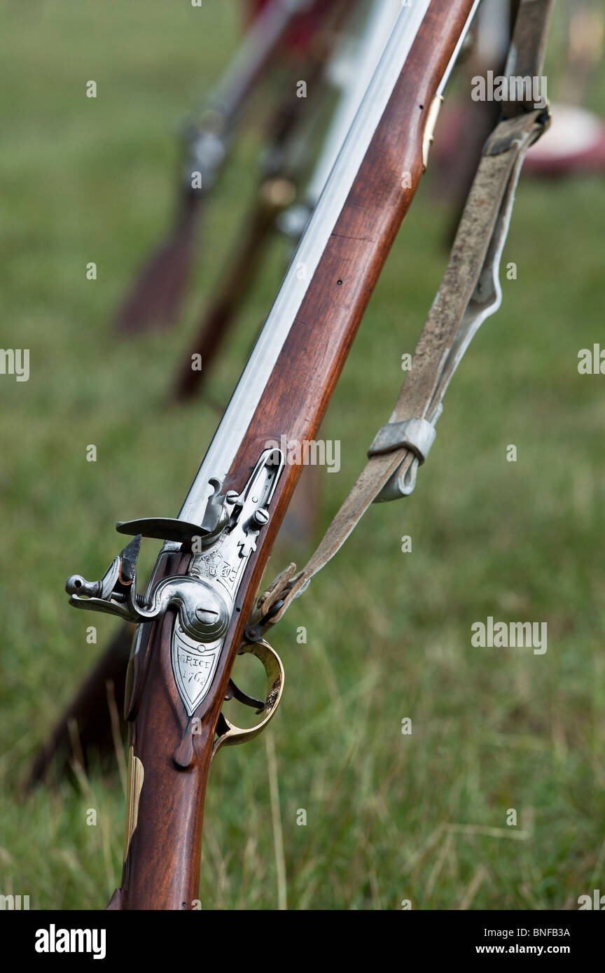Brown Bess musket Grice 1762  British-army gun  Historical