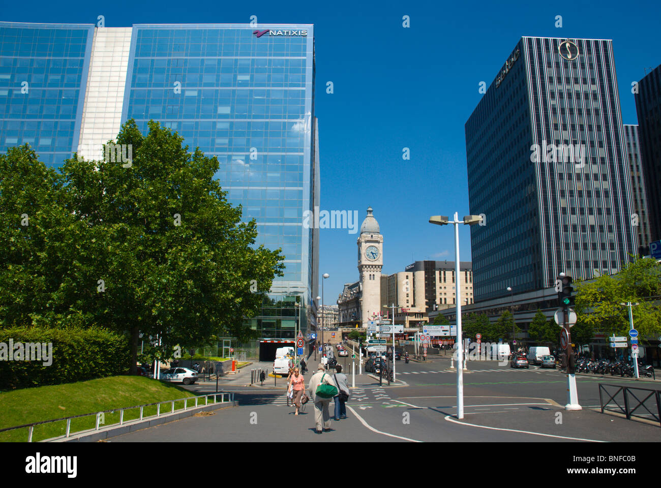 Bercy district central Paris France Europe - Stock Image