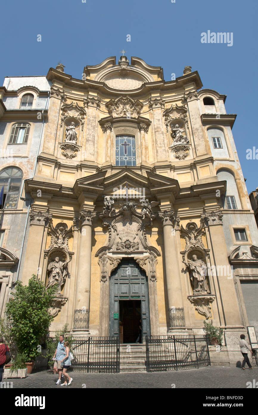 Church Santa Maria Maddalena in piazza della Maddalena, Rome - Stock Image