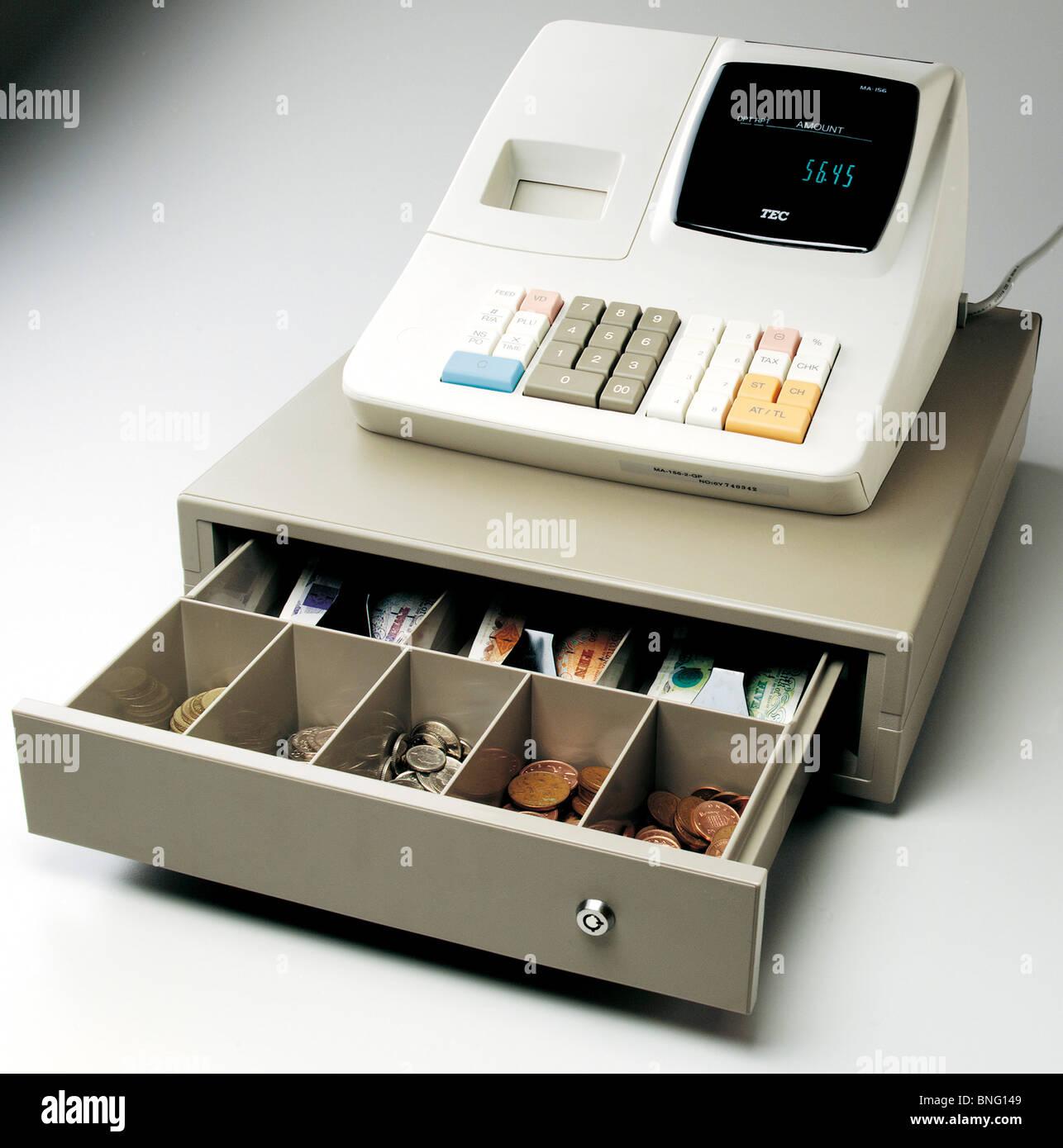Cash register - Stock Image