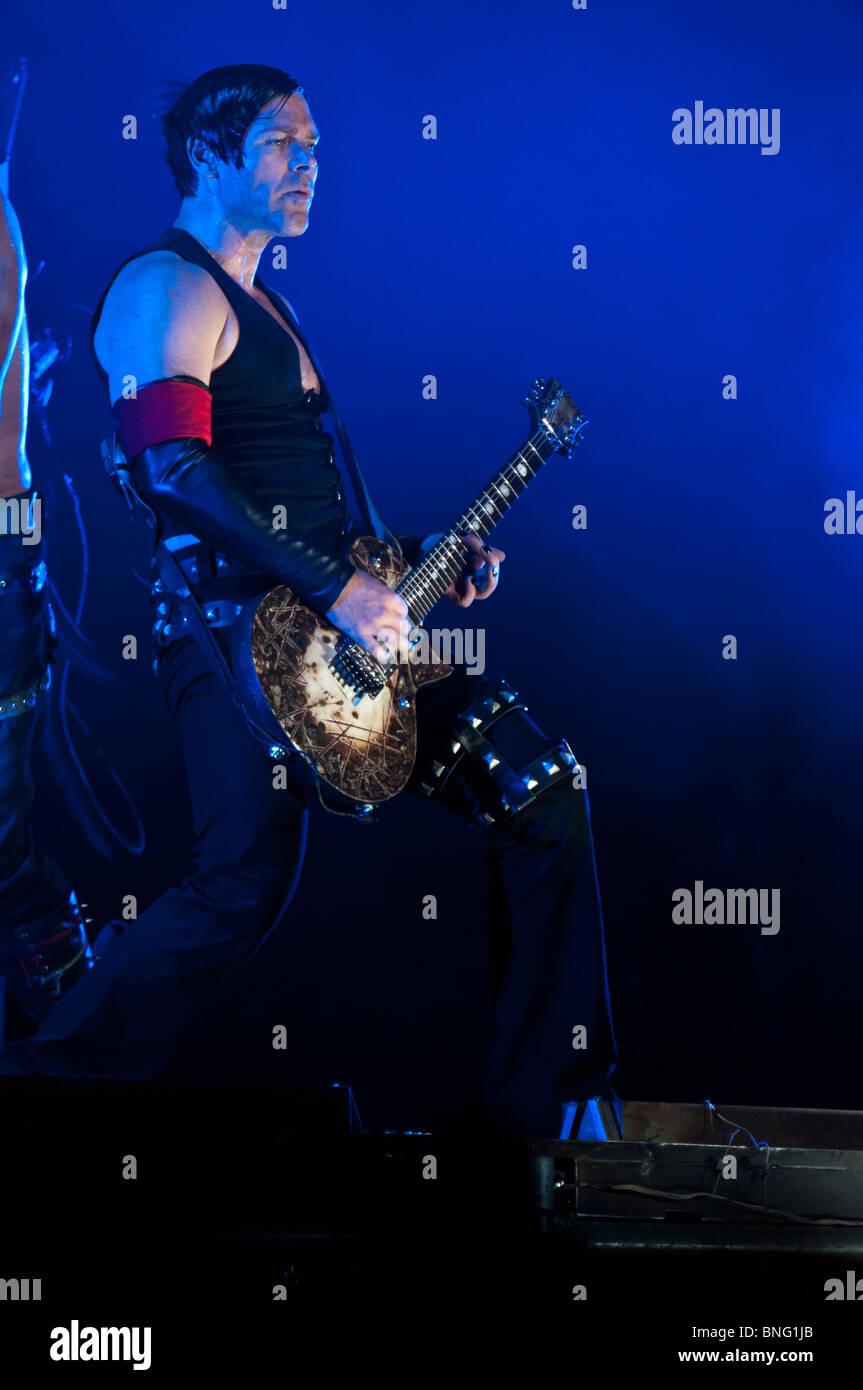 Richard Kruspe, Rammstein guitarist - Stock Image
