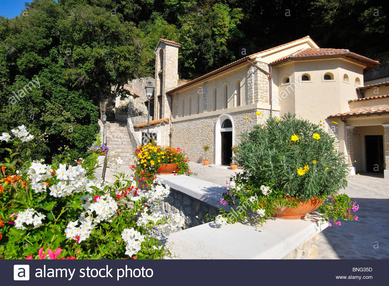Shrine of St. Francis,Greccio,Lazio,Italy - Stock Image
