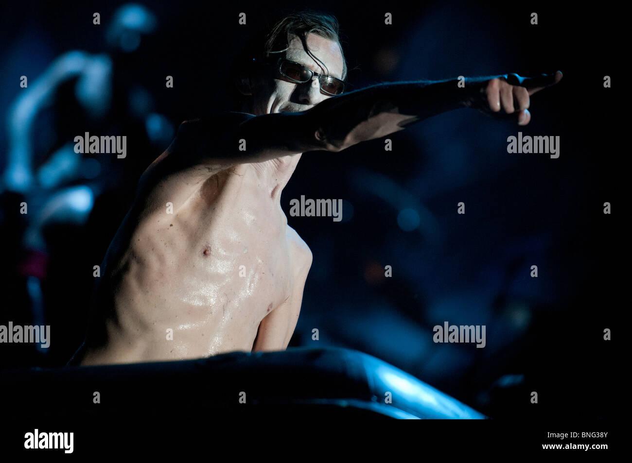 Christian 'Doctor Flake' Lorenz, Rammstein keyboarder - Stock Image