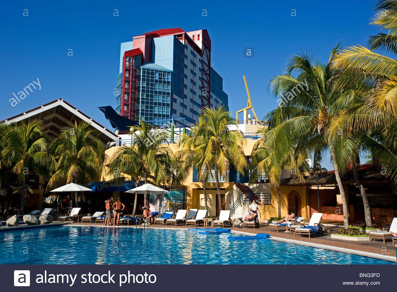 melia hotel,santiago de cuba,cuba Stock Photo