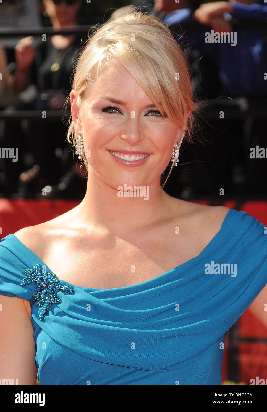 LINDSEY VONN - US Olympic skier at a film festival in July 2010 - Stock Image