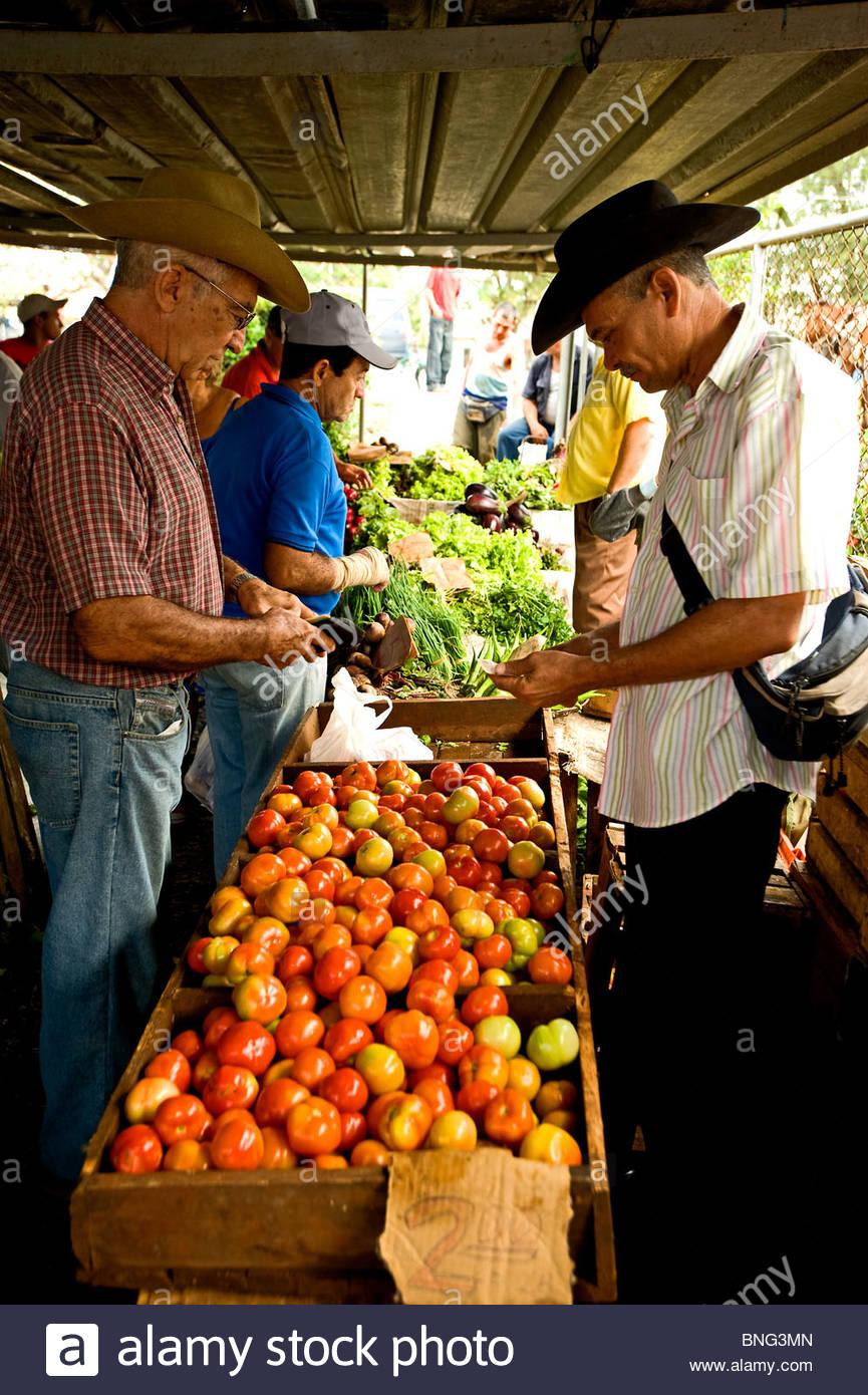 The main market. Camaguey,Cuba Stock Photo