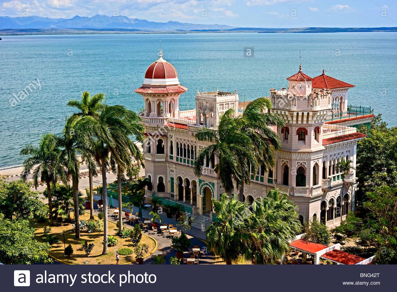 The Palacio de Valle,Cienfuegos,Cuba - Stock Image