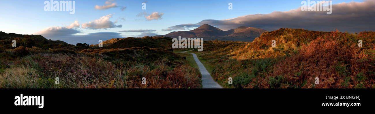 Murlough Beach County Down Northern Ireland - Stock Image