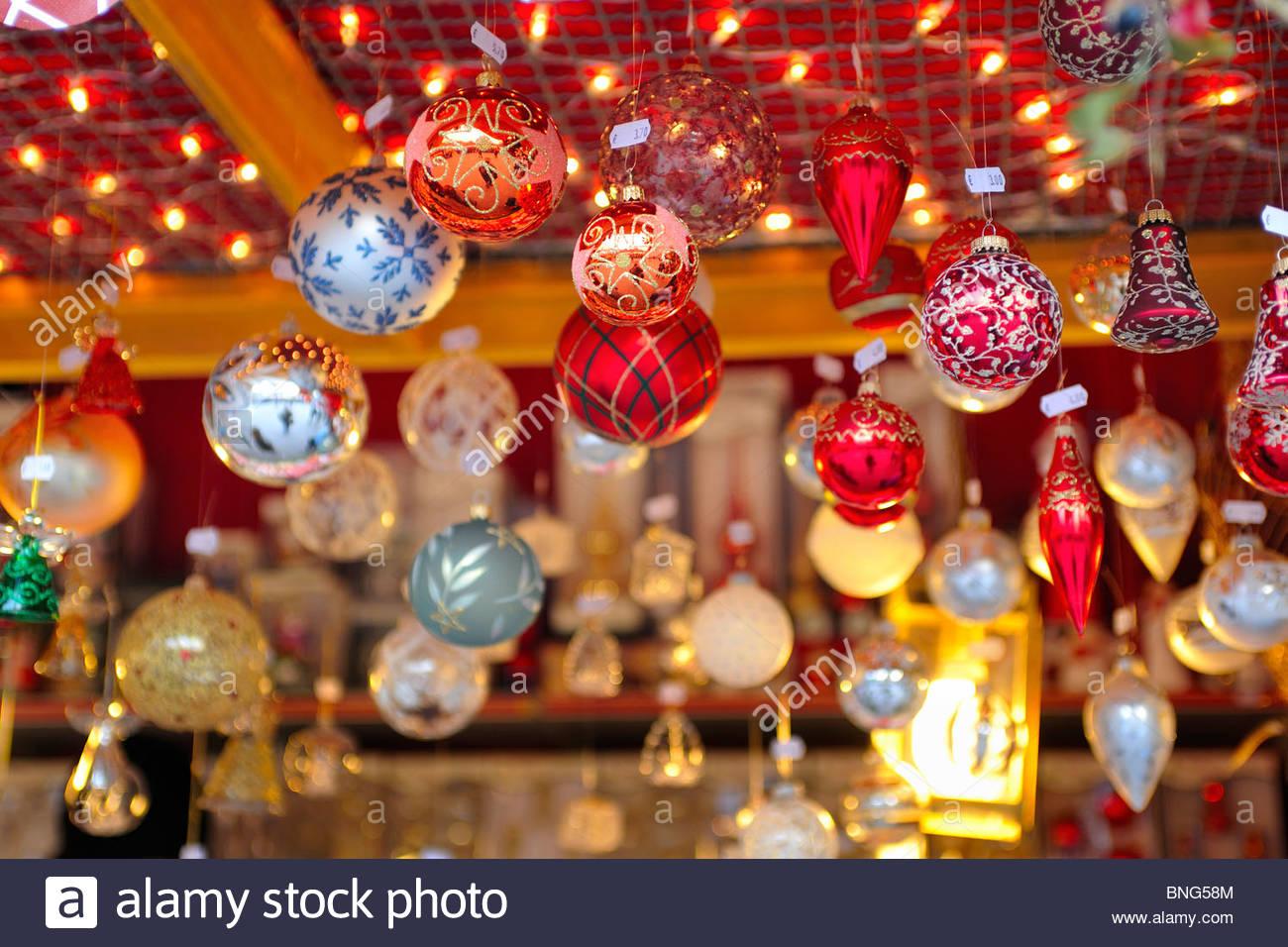 christmas market,piazza walther,bolzano,trentino alto adige,italy - Stock Image