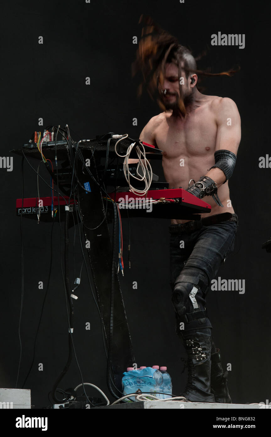 z_marr, Combichrist keyboard - Stock Image