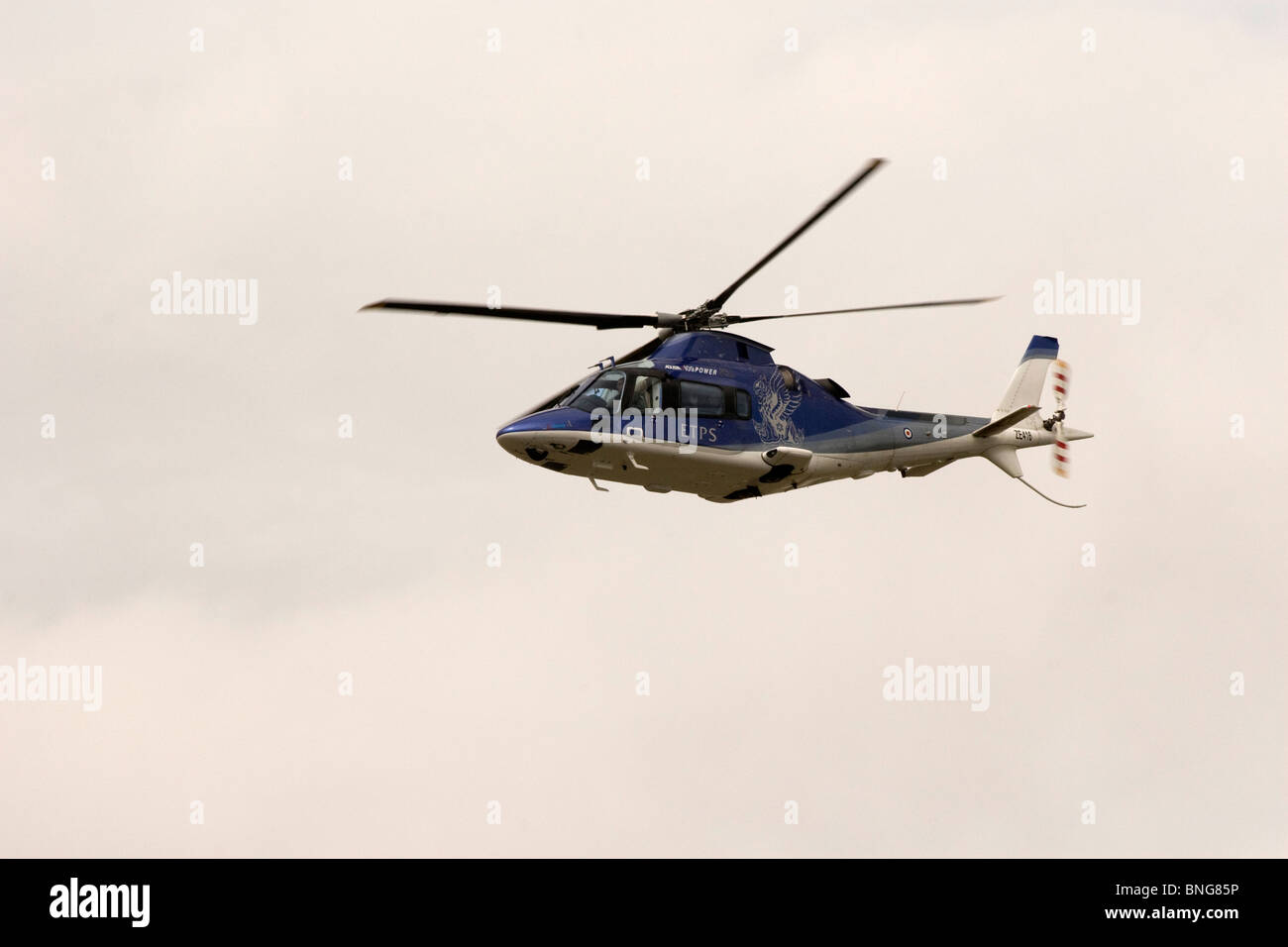 QinetiQ Agusta A109 Helicopter at Royal International Air Tattoo RIAT 2010 Air Show Fairford - Stock Image