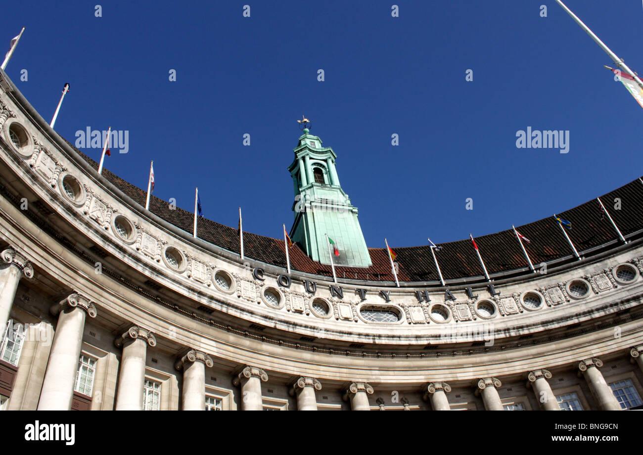 Roof of the London Aquarium Stock Photo