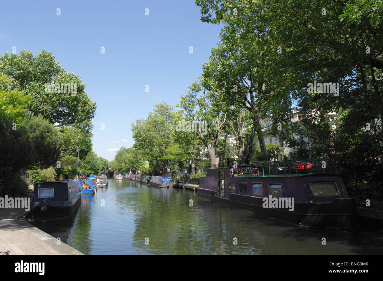 Little Venice London Stock Photo
