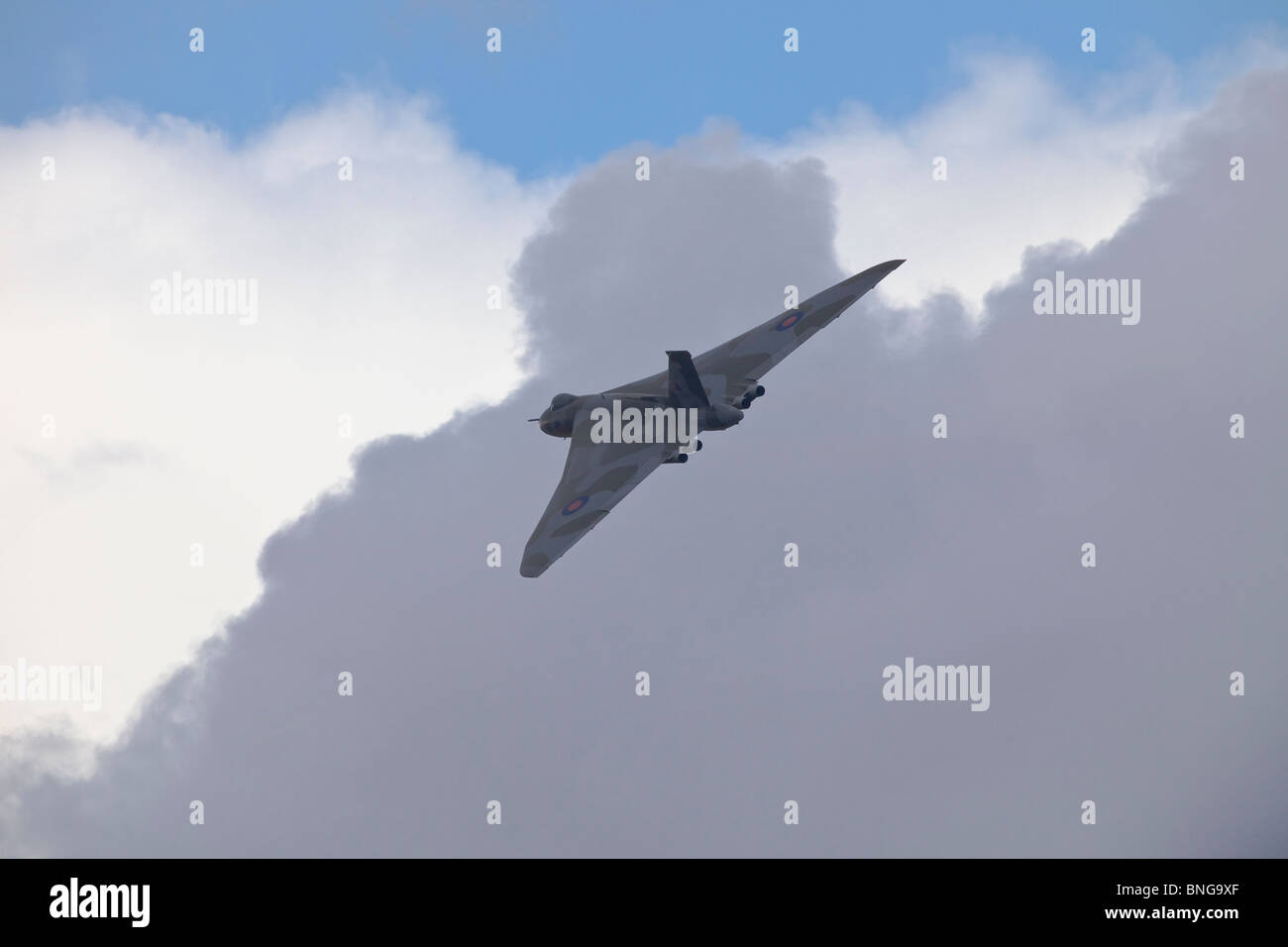 Vulcan Bomber at Fairford Stock Photo