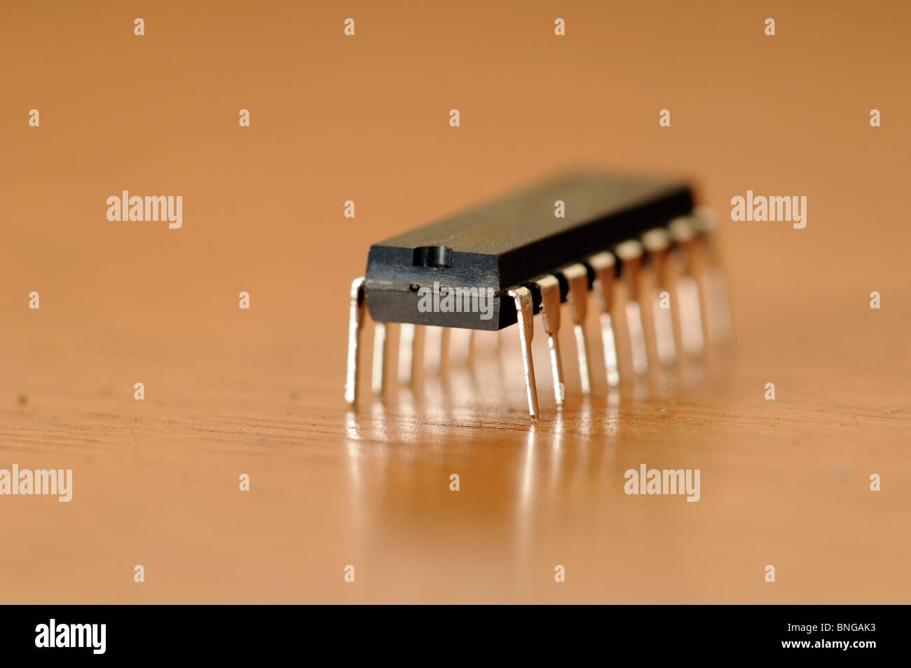 Integrated Circuit Chip Stock Photos Chips 16 Pin Image