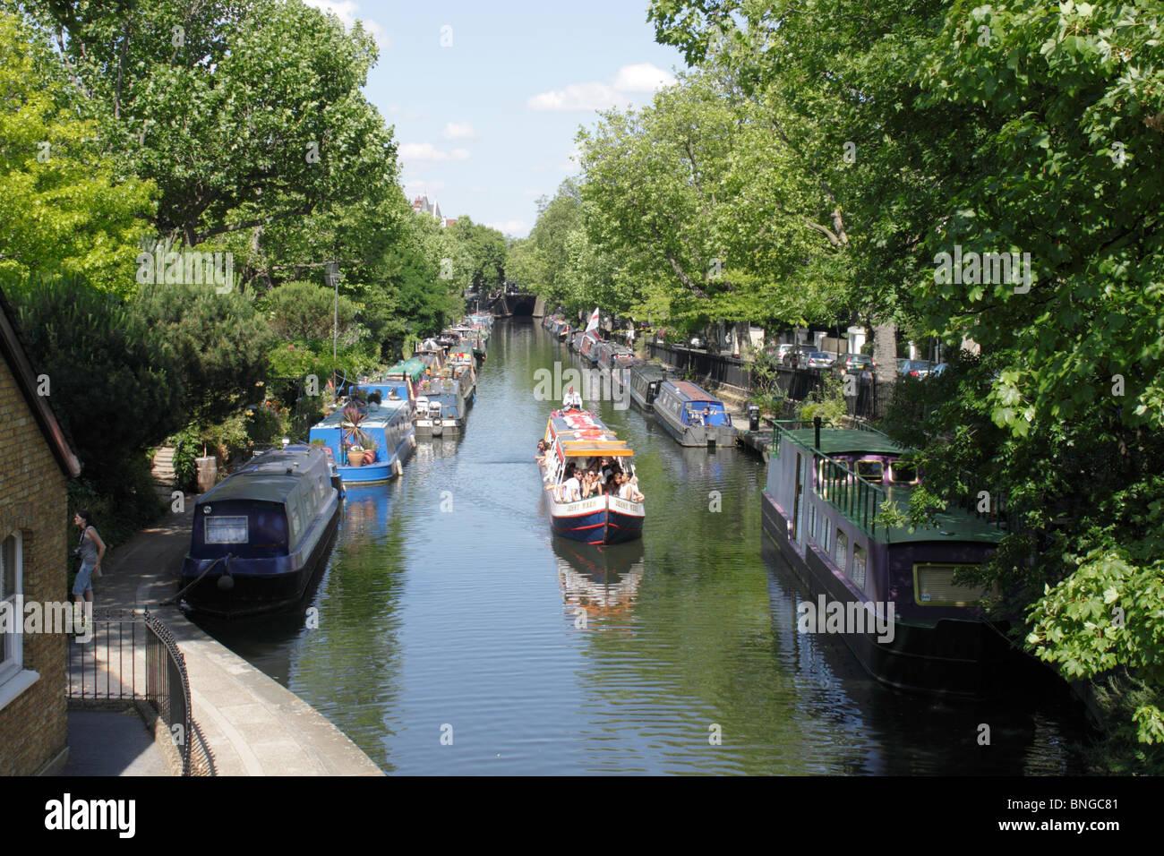 Little Venice London summer 2010 Stock Photo