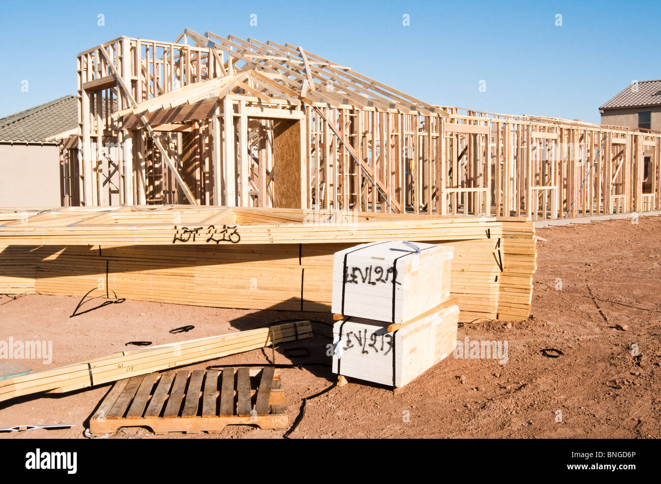 Wood Trusses Stock Photos Amp Wood Trusses Stock Images Alamy