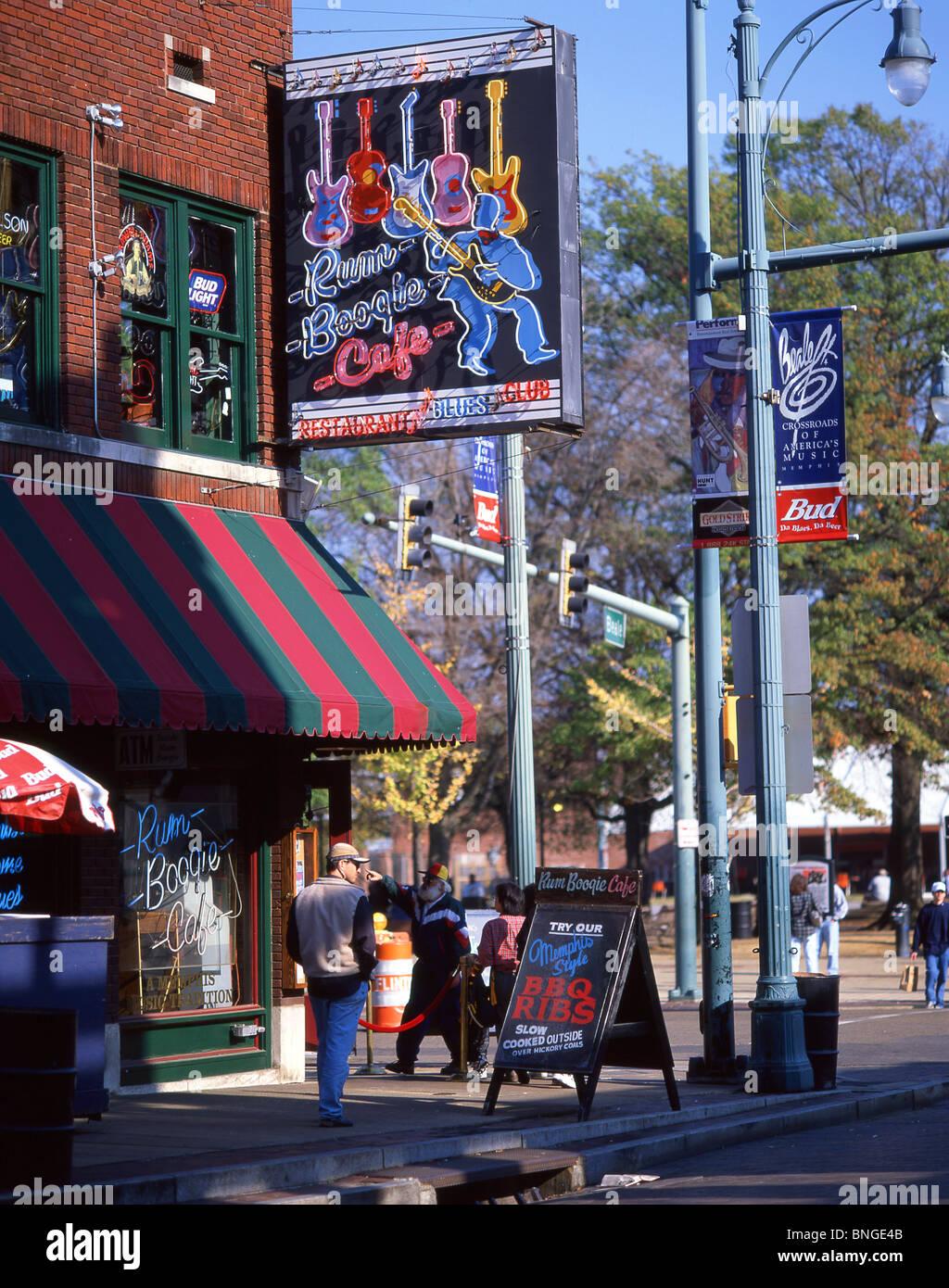 Blues Bars Beale Street Beale Street District Memphis