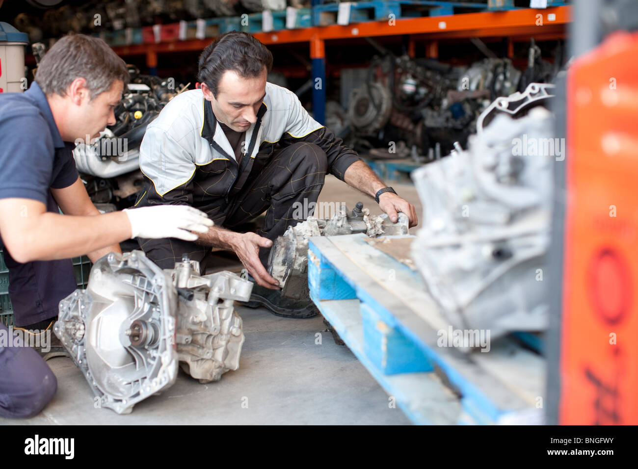 Mechanics - Stock Image
