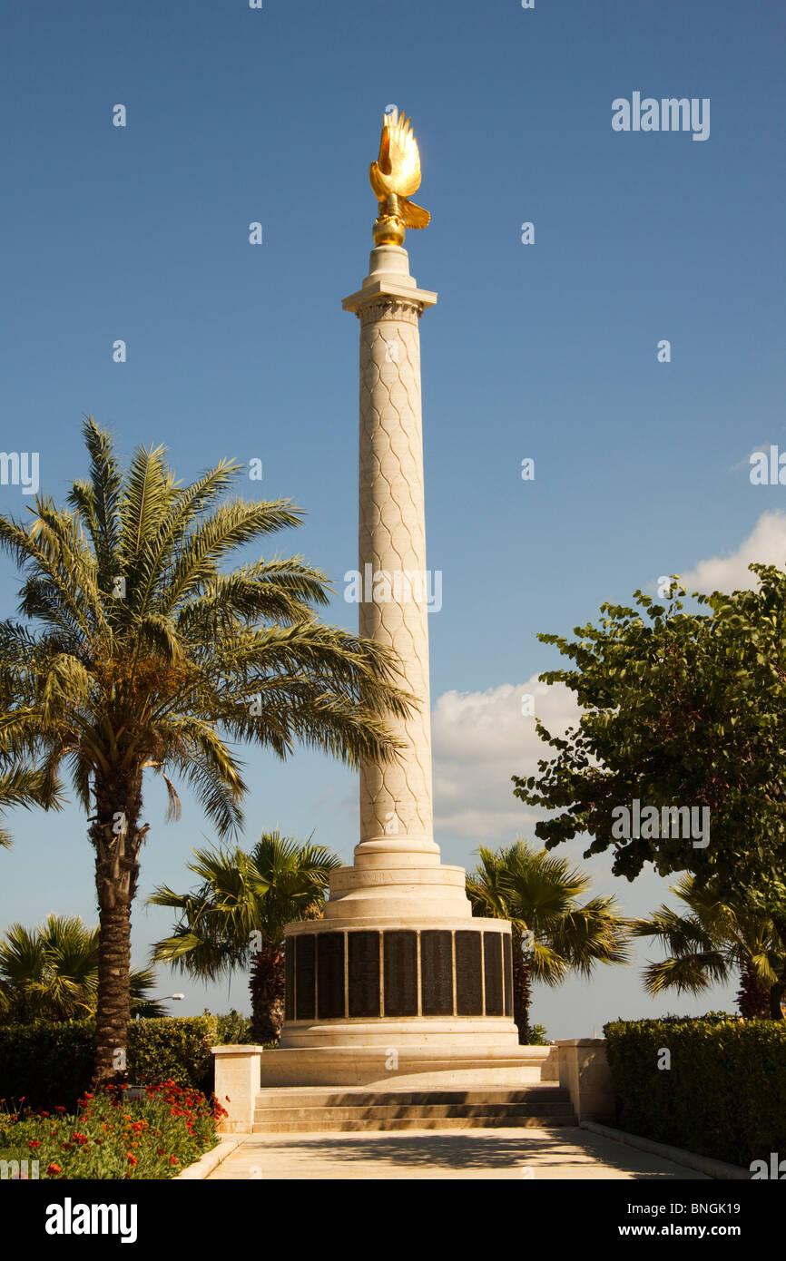 Commonwealth Air Forces Memorial, Valletta, Malta - Stock Image