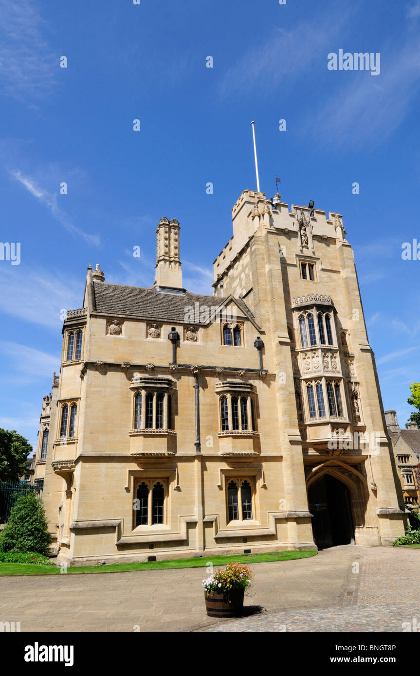 St Swithun's Tower and Building at Magdalen College, Oxford, England, UK Stock Photo