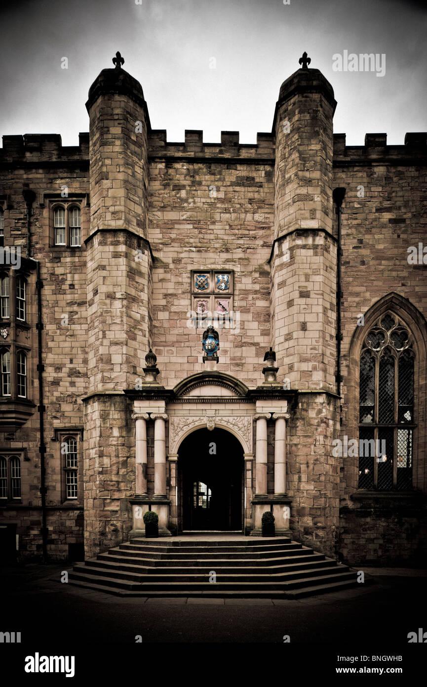 Durham Castle, UK. - Stock Image