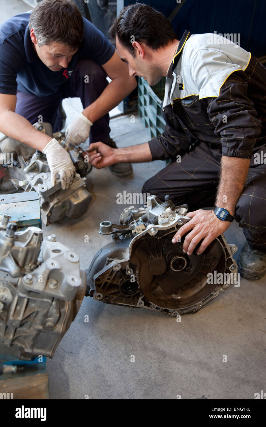 Fixing parts - Stock Image