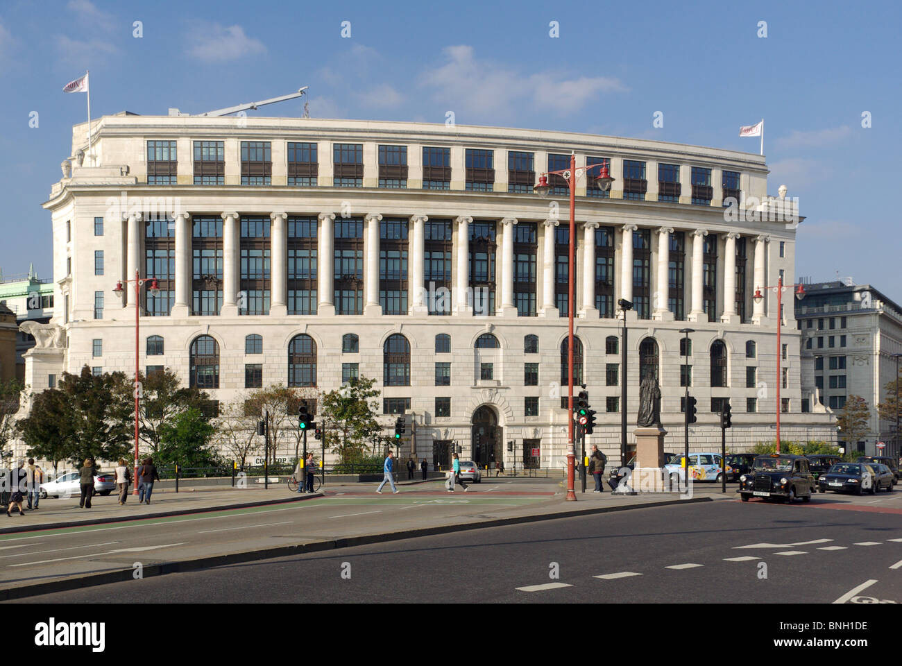Unilever House headquarters building Blackfriars City of London England UK Stock Photo