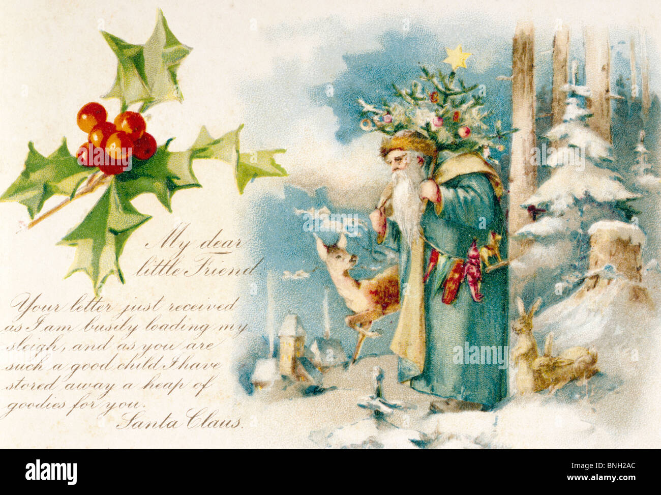 Victorian Christmas Cards Stock Photos Victorian Christmas Cards