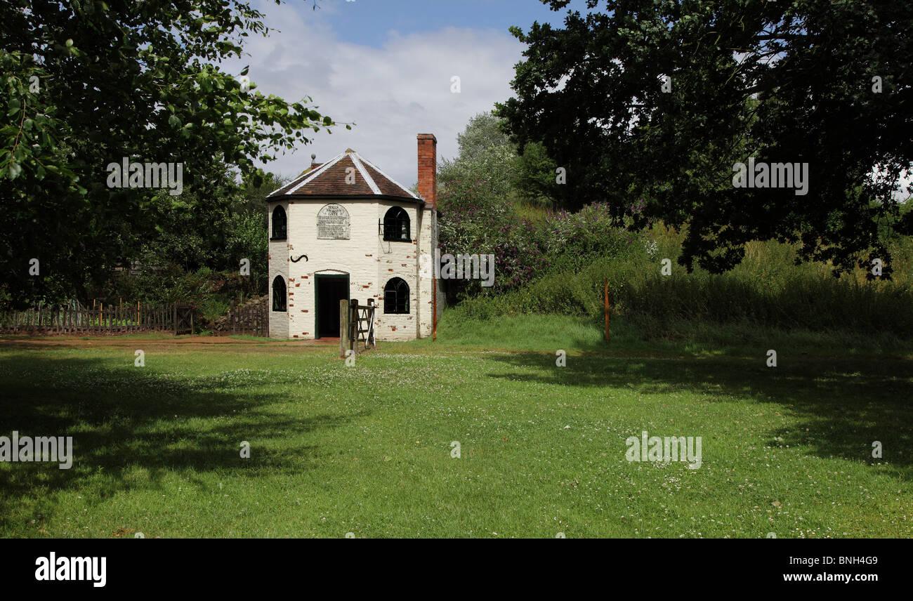 TOLL HOUSE.  AVONCROFT MUSEUM.  BROMSGROVE.  WORCESTERSHIRE.  ENGLAND.  UK - Stock Image