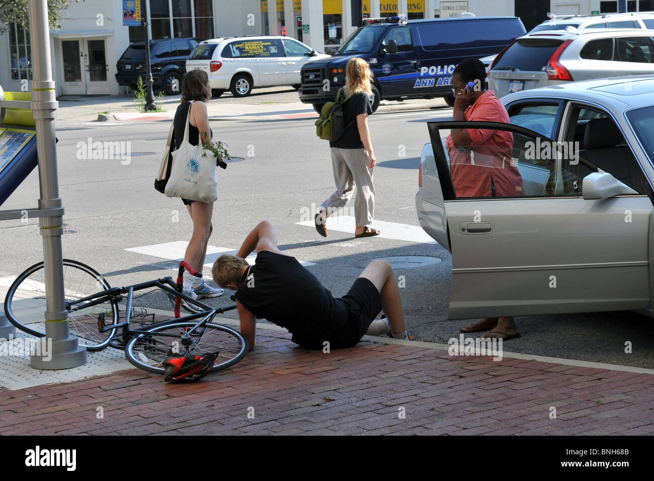 People Getting Run Over By Cars