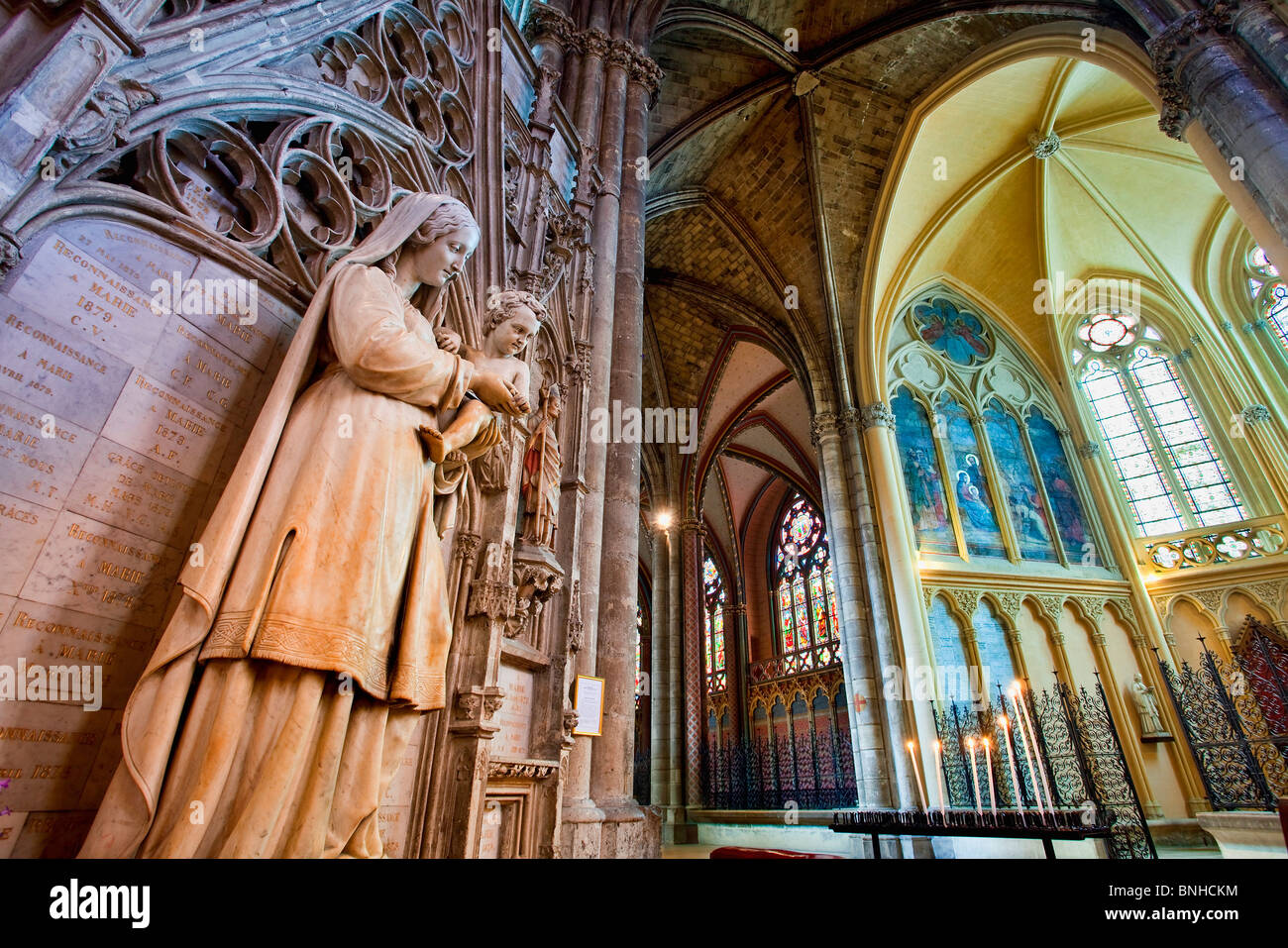 Europe, France, Gironde (33), Bordeaux, Saint Andre Cathedral, Listed as World Heritage by UNESCO - Stock Image