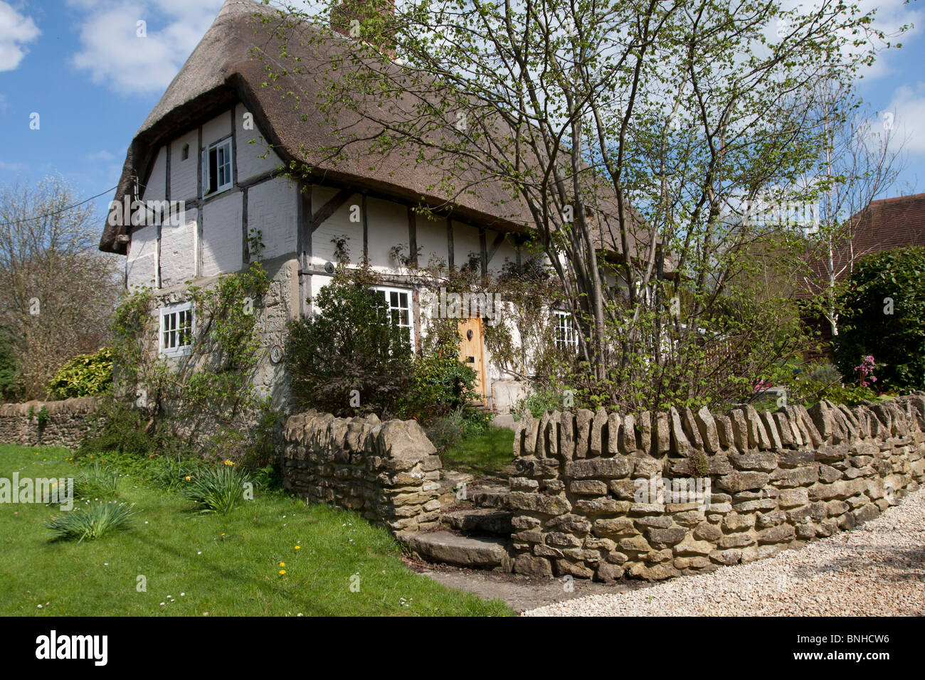 Garsington Village, Oxford UK - Stock Image