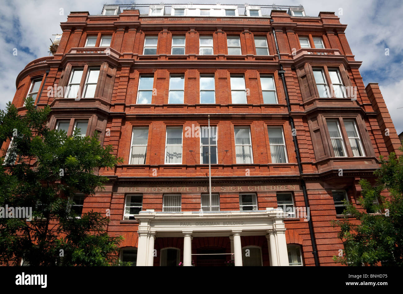Great Ormond Street Hospital for Sick Children, London - Stock Image