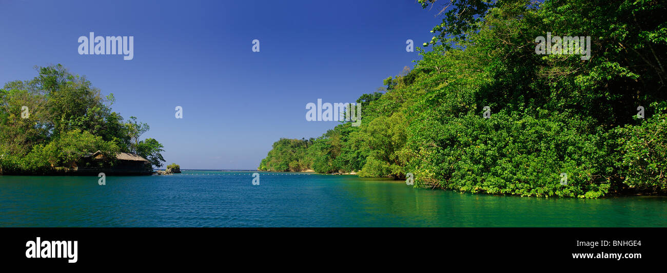 Caribbean Jamaica Boat Tour To Blue Lagoon North Coast