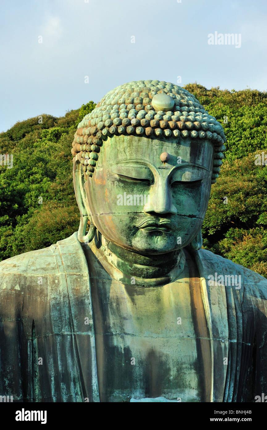 Japan Daibutsu Great Buddha Kotoku-In Kamakura Kanagawa Prefecture Amida Buddha Amitabha Buddha Asia Buddha Buddhism - Stock Image