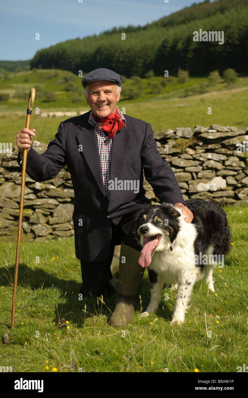 A Man And His Dog >> One Man And His Dog A Welsh Hill Farmer Shepherd With His Welsh