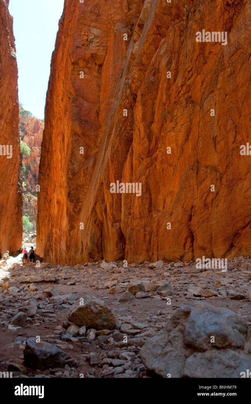 Standley Chasm, West MacDonnell National Park, near Alice Springs, Northern Territory, Central Australia - Stock Image