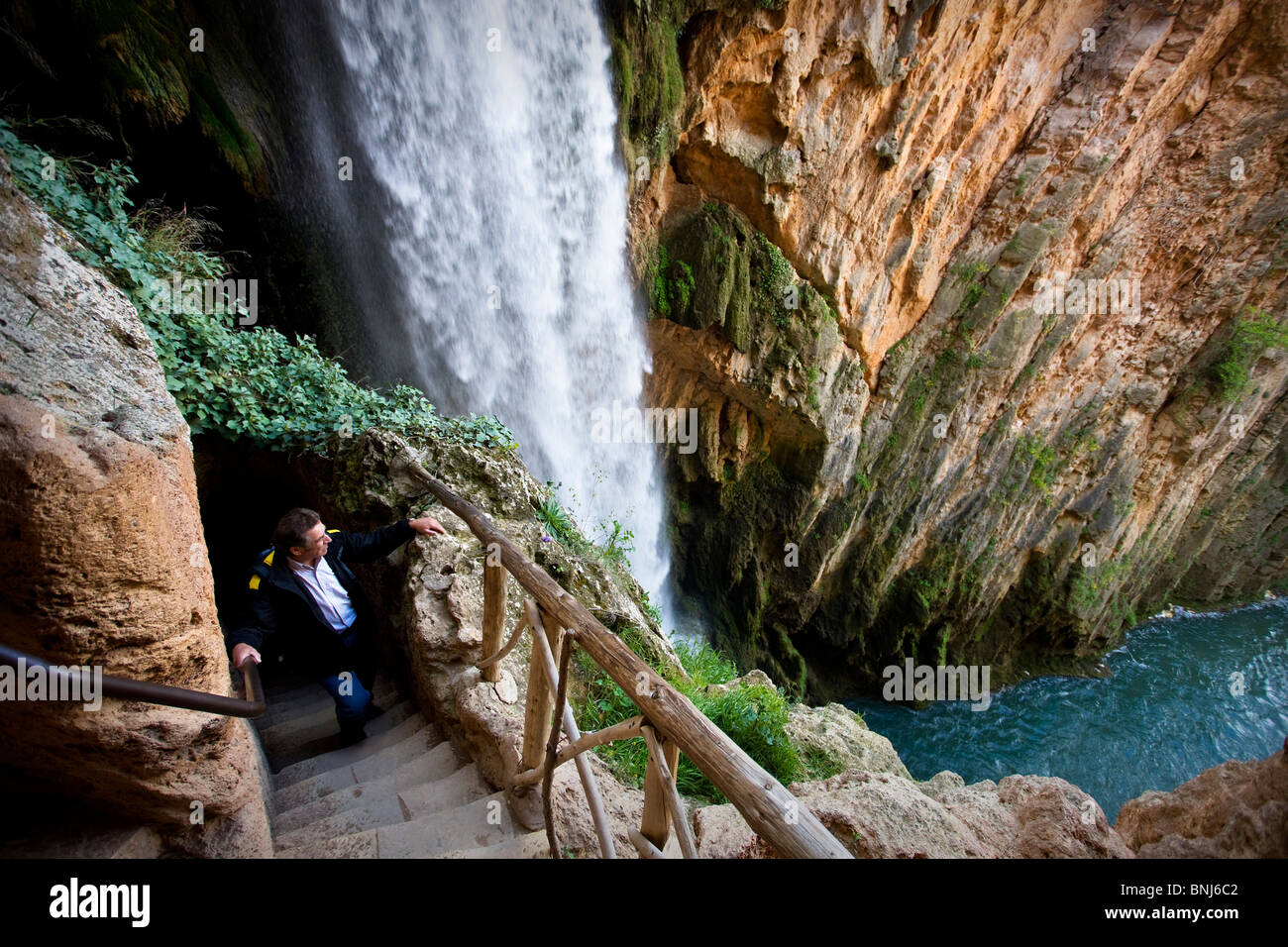 Spain Aragon Region Area Zaragoza Province Monasterio De Piedra Park Stock Photo Alamy