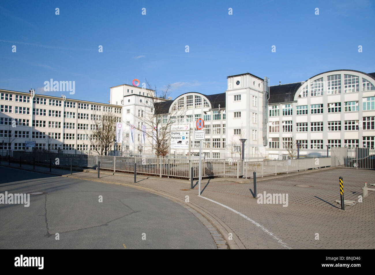 Architecture field recording FRG building federal republic business Germany Europe company companies buildings constructions - Stock Image