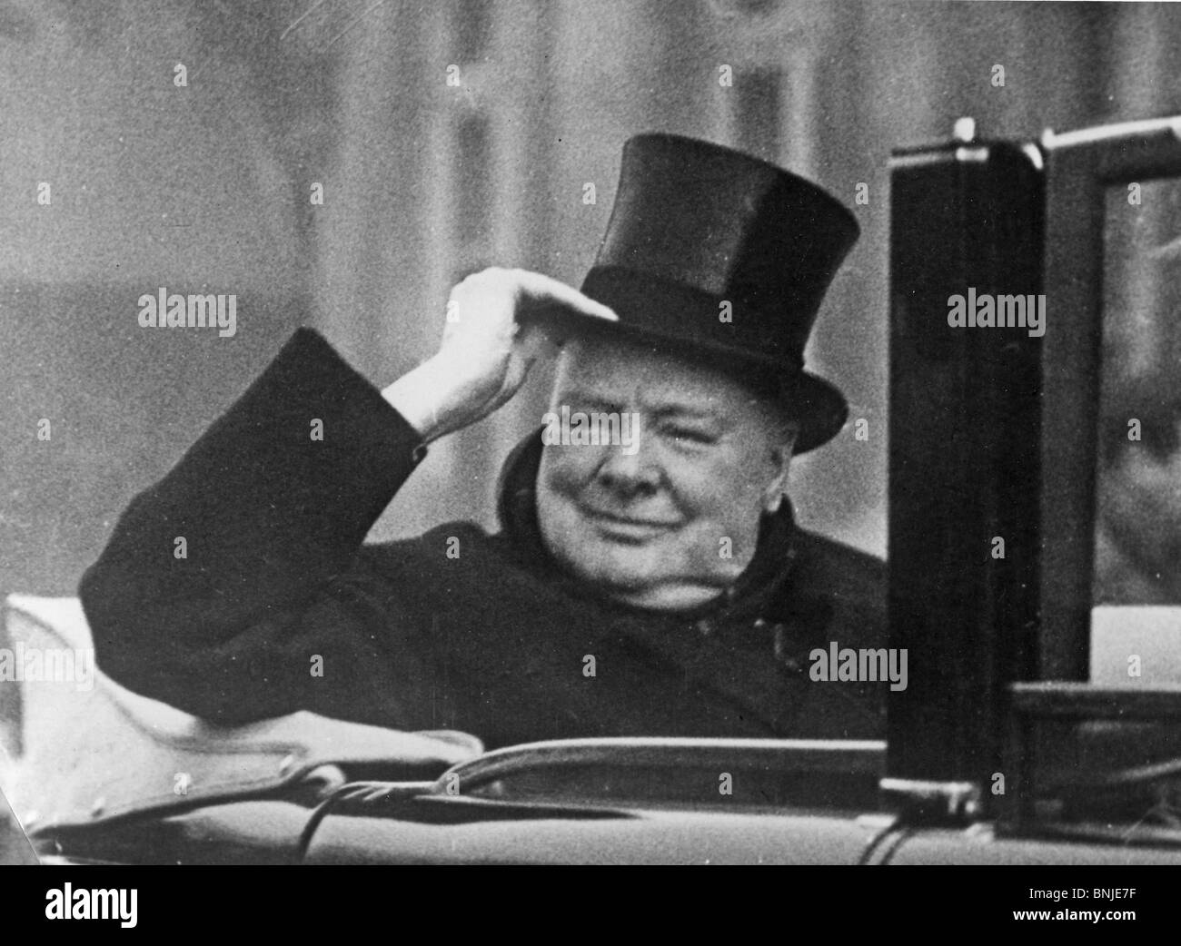 SIR WINSTON CHURCHILL about 1945 - Stock Image