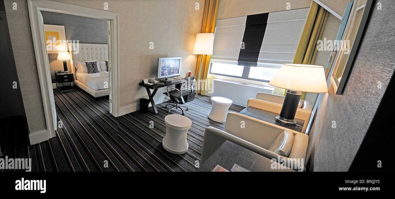 Junior Suite The Marcel Gramercy Hotel 201 24th Street Gramercy Stock Photo Alamy
