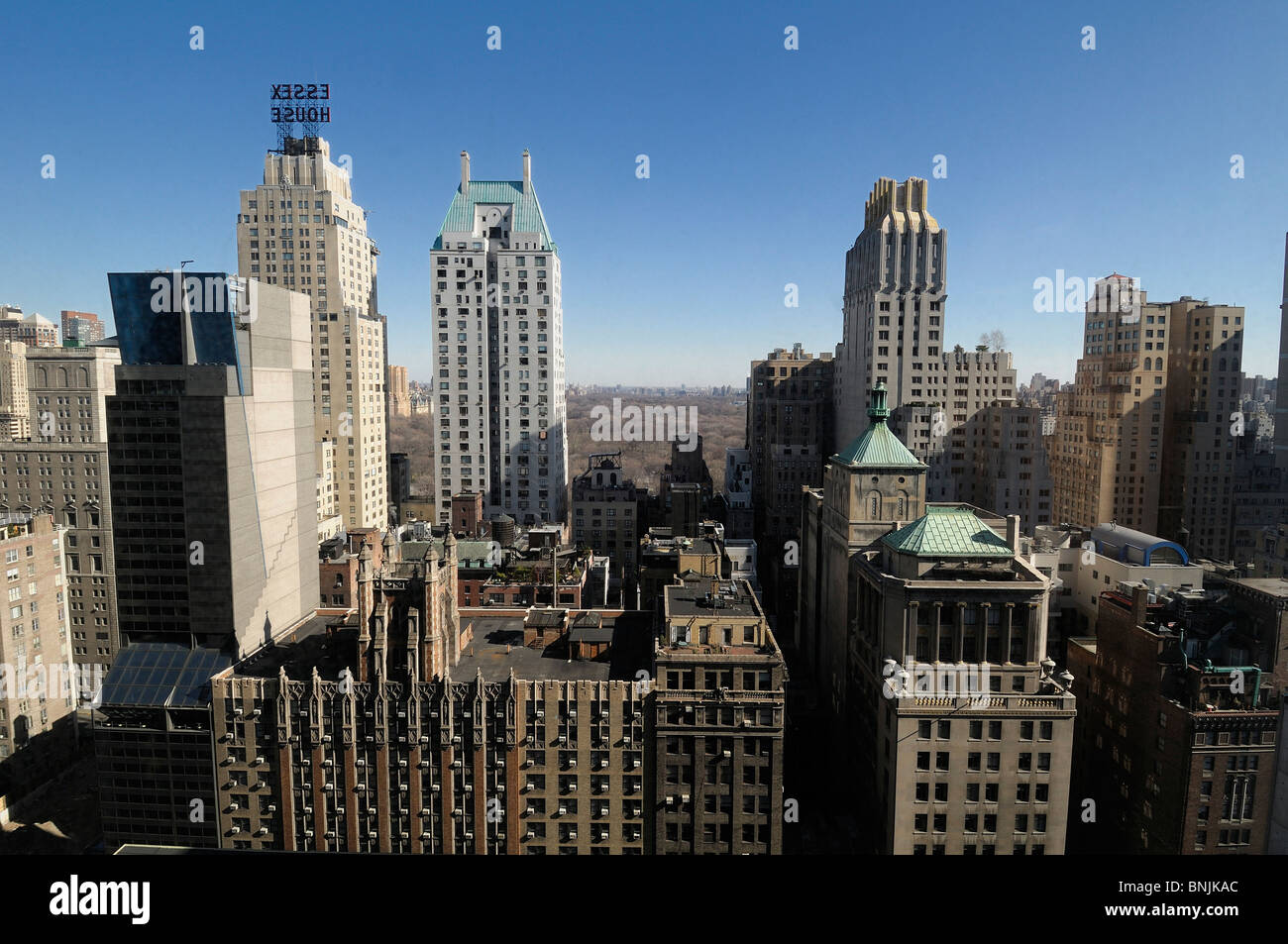 118 W 57th Street Midtown Manhattan New York USA buildings skyline city travel american urban - Stock Image