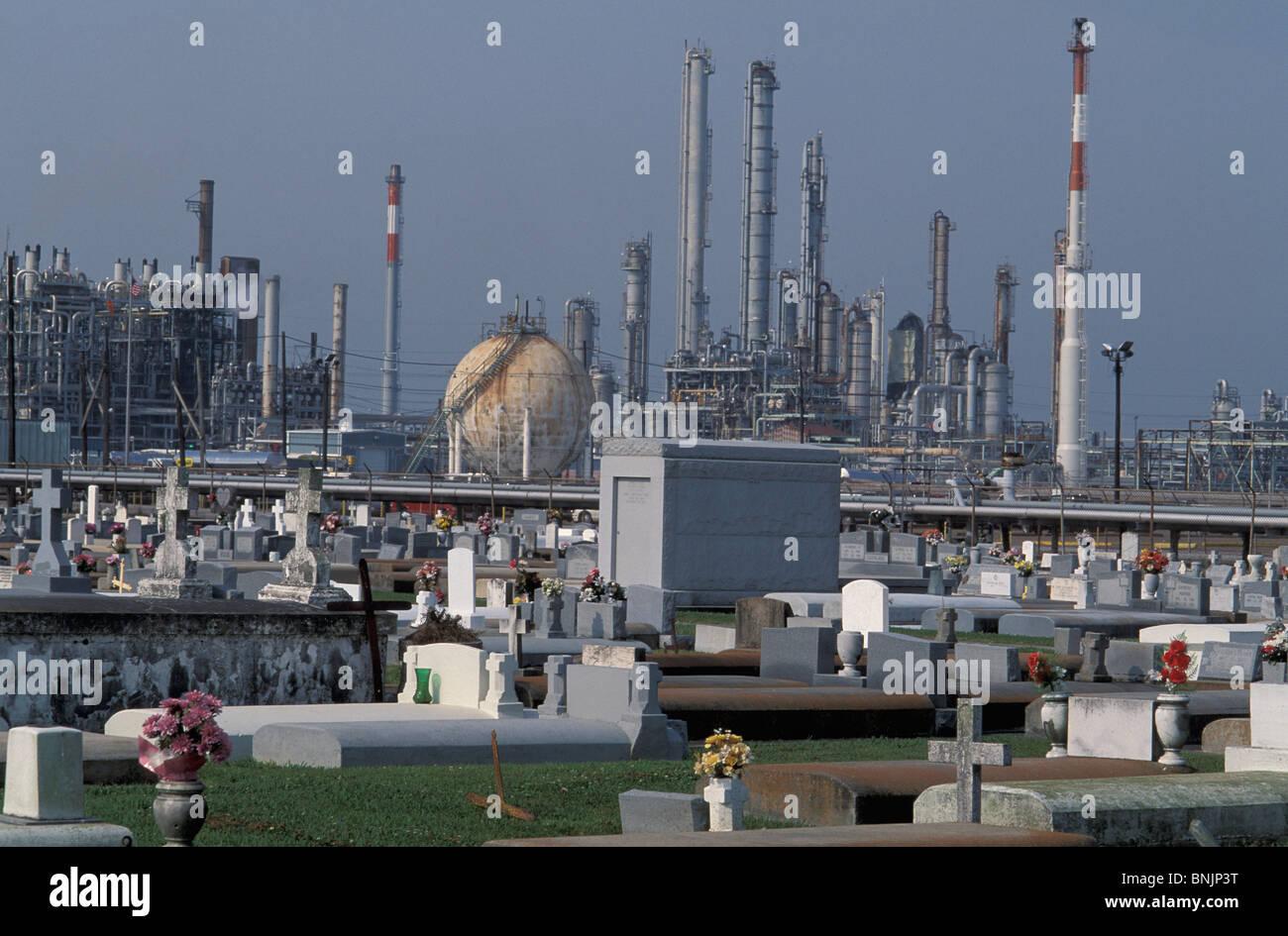 Petrochemical Plant Hahnville Louisiana USA North America America
