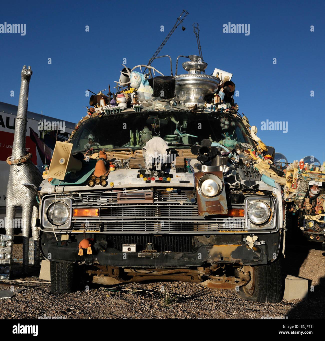 Car art Goldfield Nevada USA North America travel America old cars ...