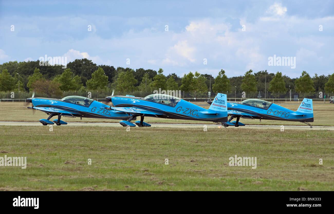 The Blades Aerobatic Flying Display Team, UK - Stock Image
